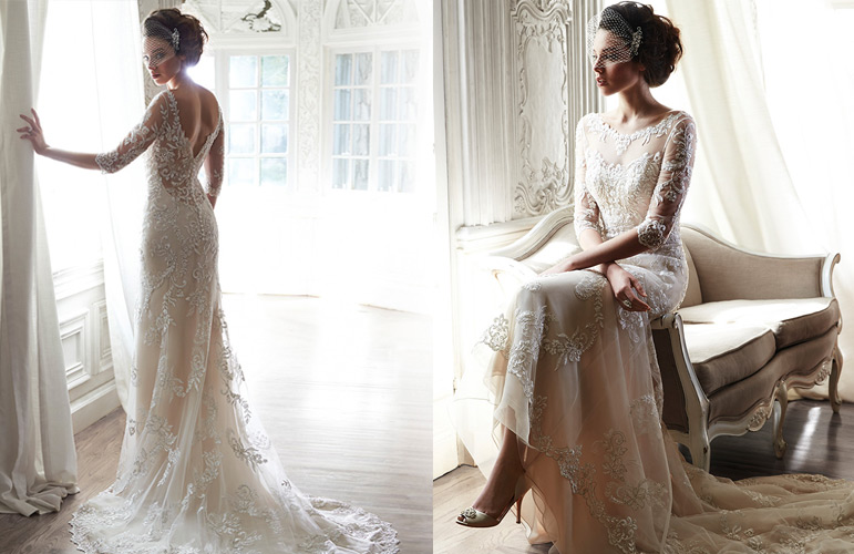 dreaming of wearing a wedding dress